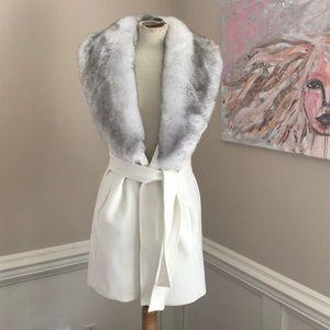 White House Black Market long vest size S/M
